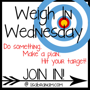 Weigh in Wednesday: reach your goals with Lisa Branam
