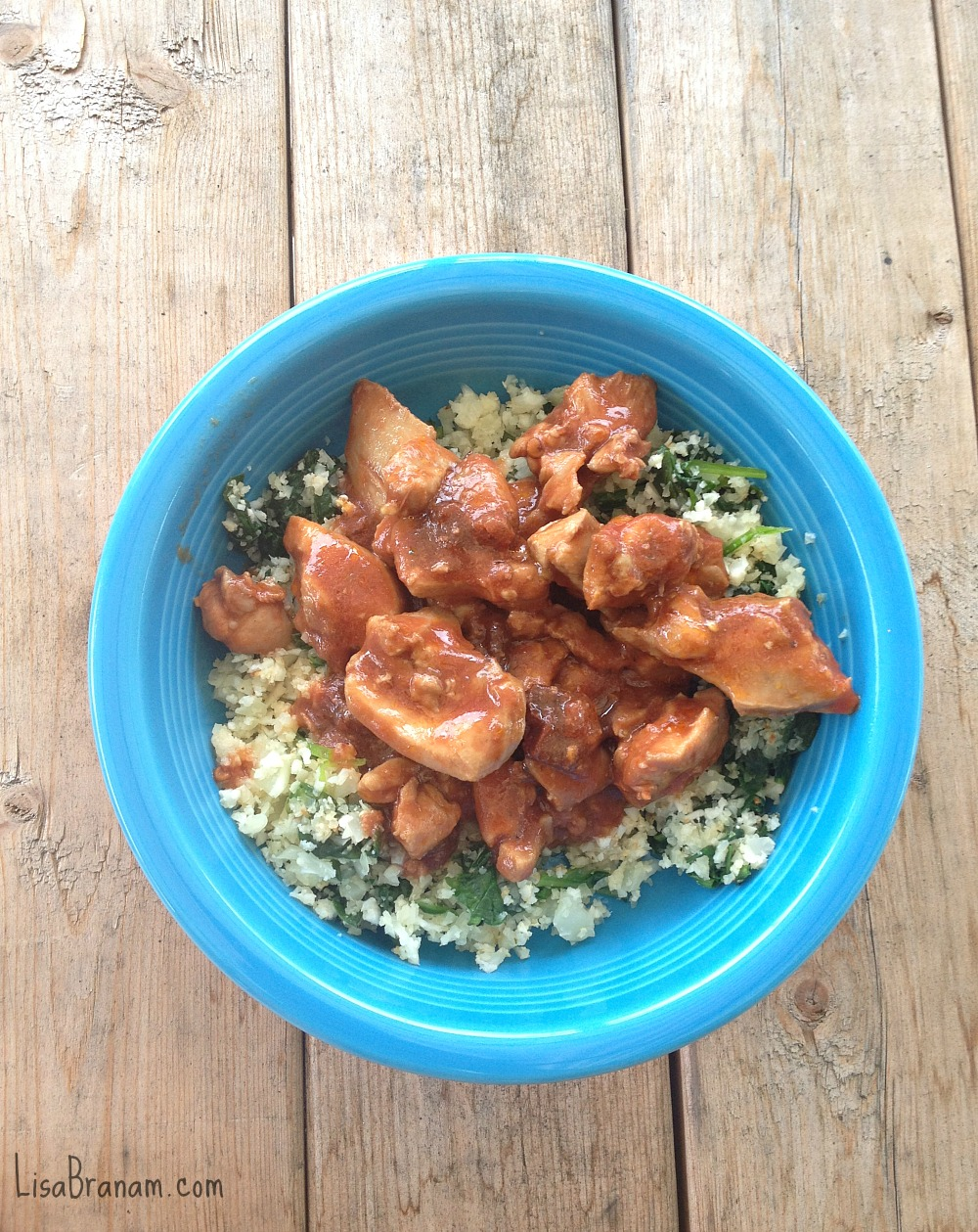 baked Mexican Chicken with Cilantro Lime Cauliflower Rice