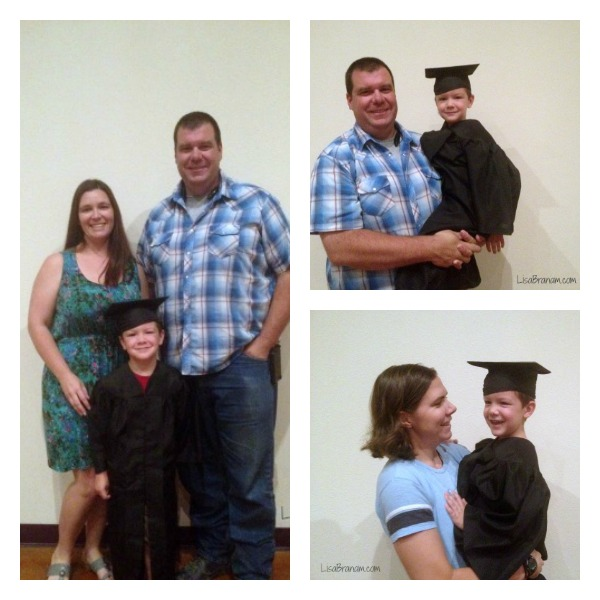 Family preschool graduation
