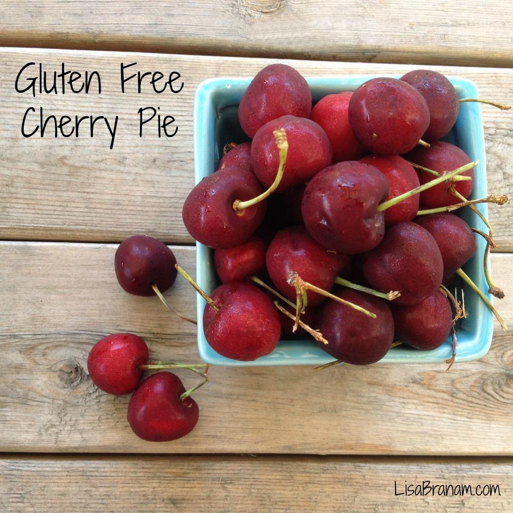 Gluten Free Cherry Pie- LisaBranam.com