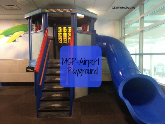 msp Airport playground road trip