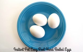 Instant Pot Easy Peel Hard Boiled Eggs